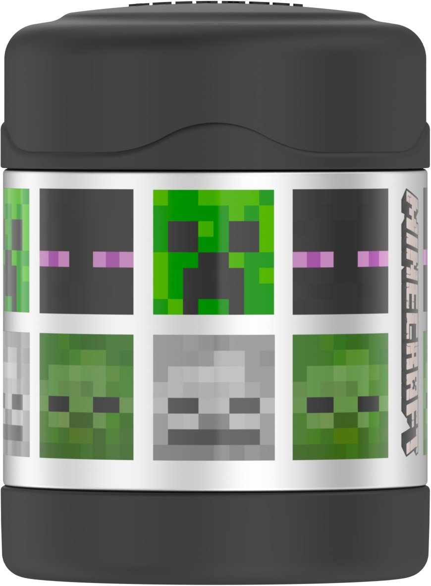 Thermos Funtainer 10 Ounce Food Jar, Minecraft by Thermos (Image #1)