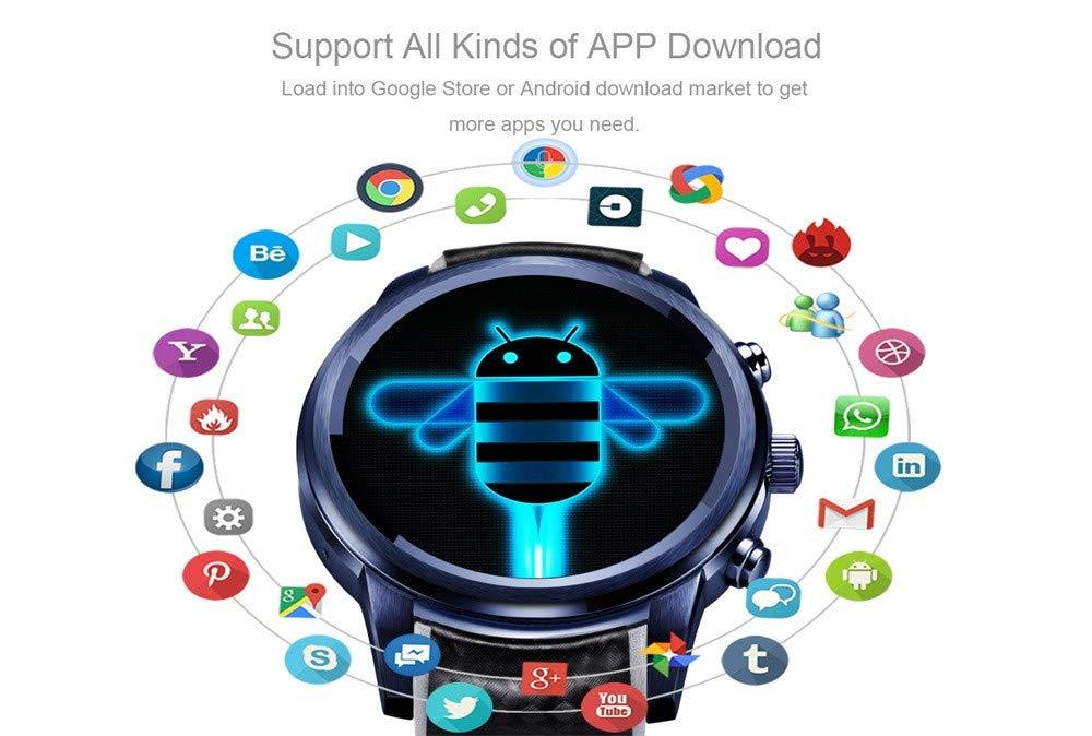 Alt Verano Smart Reloj Bluetooth con GPS, WiFi, 1.39 IPS Pantalla ...