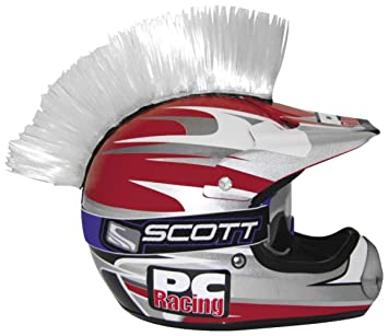 PC Racing Casco Mohawk – blanco pchmwhite