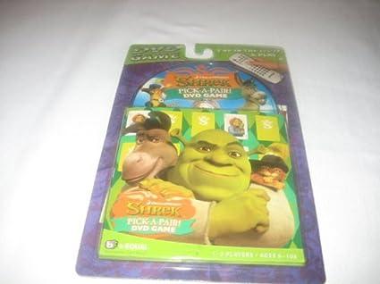 Amazon.com: DVD Juego Shrek Pick un par: Toys & Games