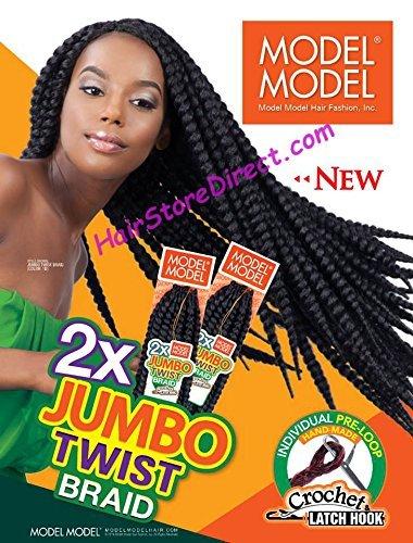 Model Model Jumbo Twist Braid 24