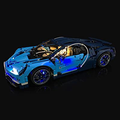 PeleusTech LED Light Kit for Lego Bugatti 42083 - LED Included Only, No Lego Kit: Toys & Games