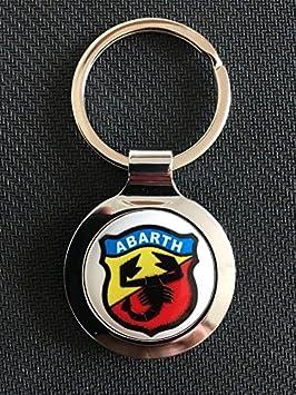 SCOOBY DESIGNS FIAT 500 595 Abarth- Llavero de Metal con ...