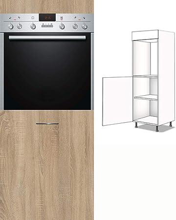 Premium-Ambiente CAD-Parental - Armario Alto para Cocina (1 Puerta, 154 cm de Alto, con Amortiguador): Amazon.es: Hogar