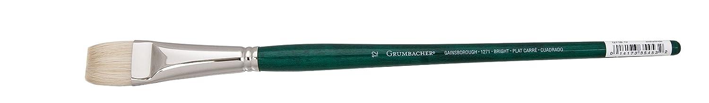 1271B.4 Size 4 Grumbacher Gainsborough Bright Oil and Acrylic Brush Hog Bristle