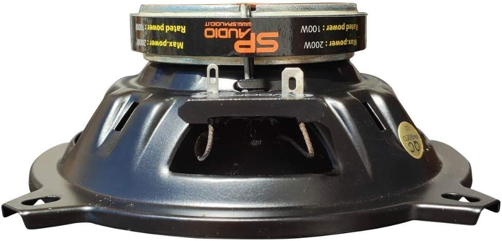 la Paire 2 SP AUDIO SP-5.25CX Haut-parleurs coaxiaux 2 Voies 5,25 13,00 cm 130 mm 100 Watts rms 200 Watts Max imp/édance 4 ohms sensibilit/é 94 DB spl