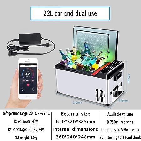YIWANGO Portátil Refrigerador BAJO Consumo Eficiente Y Silencioso ...