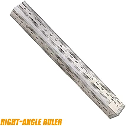 Ultra Precision Marking Ruler T Type Square Woodworking Tool Professional