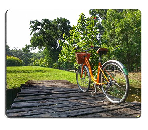 luxlady-mouse-pad-natural-rubber-mousepad-image-id-32814299-bicycle-in-park-hdr