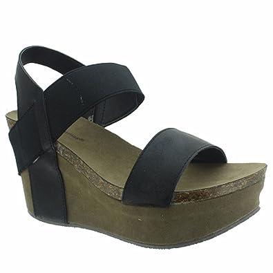 2658481a51b Pierre Dumas Hester-1 Women s Platform Wedge Sandal (6M