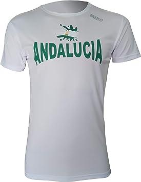 Ekeko Andalucia, Camiseta Hombre Manga Corta, para Running ...