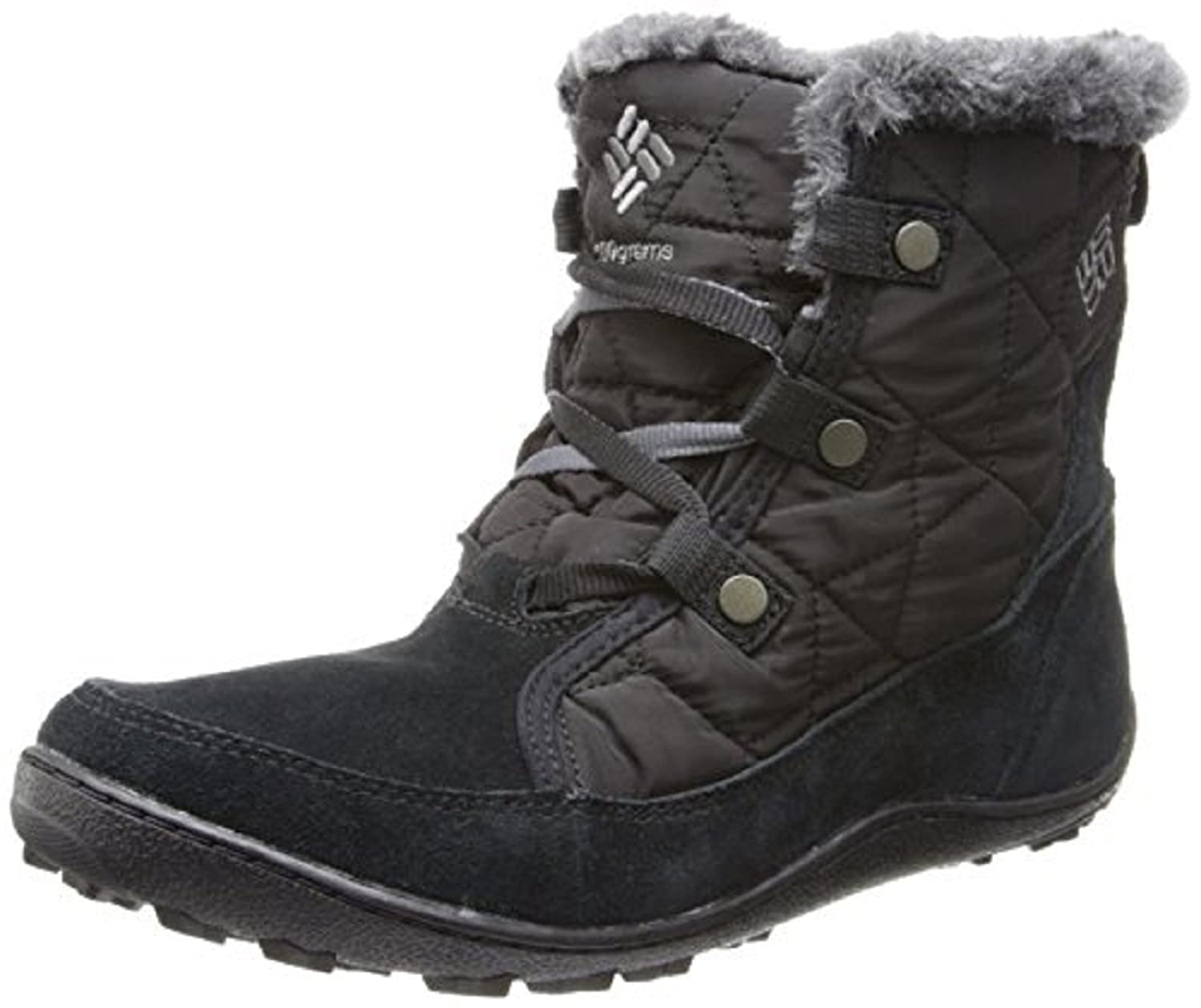 Columbia Women's Powder Summit Shorty Waterproof Boots Insulated Shoes B076L4939X 7.5 B(M) US