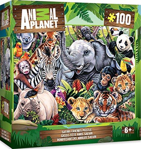 MasterPieces Animal Planet Safari Friends - 100 Piece Kids Puzzle