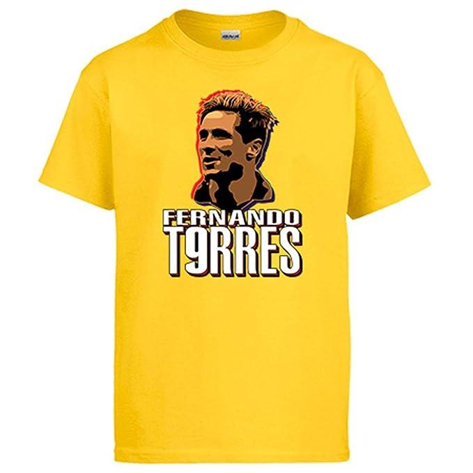 Nueve Diver Camiseta Fernando De El Madrid Torres Atlético Bebé lFuTK1Jc3