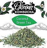 Kitchen & Housewares : Oregon Coconut Green Tea Bag (1 ounce)