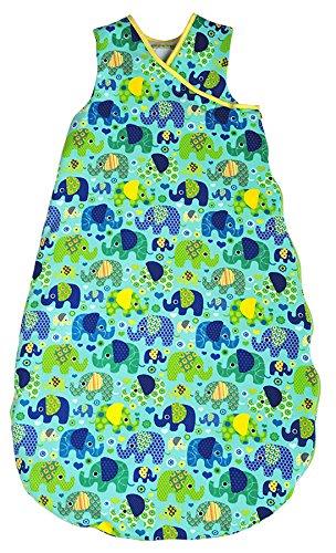 Picos Aerosleep - Saco de dormir para bebé elefante azul azul azul Talla:98/104: Amazon.es: Bebé