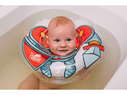 Aleta, flotador anillo inflable de PVC para bebé con correa para el hombro,