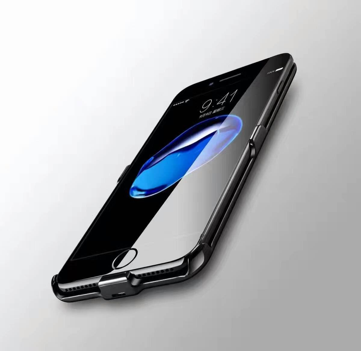 Housses De T/él/éphone Portable Housse Chargeur iPhone 6//7 Coque batterie iPhone 6//6S /étui de charge iPhone 7//7S Ultra Fine naack 3000/mAh Housse Couverture 7//7S Imprim/é couverture pour iPhone 7