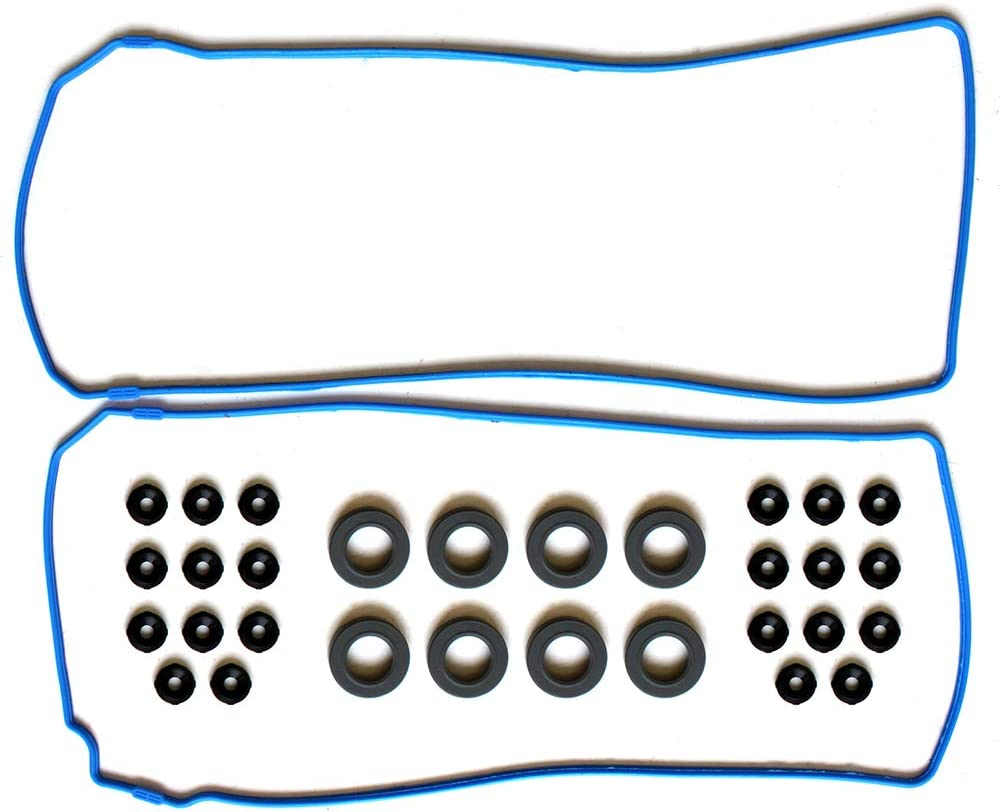 ROADFAR Valve Cover Gasket Set Kit for Ford GT Mustang Lincoln Navigator Marauder Panoz Esperante Qvale 4.6L 5.4L 97 98 99 00 01 02 03 04 05 06 07 08-12