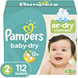 Diapers Size 2,112 Count - Pampers Baby Dry Disposable Baby Diapers, Super Pack