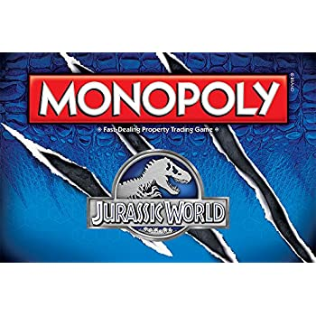 Monopoly: Jurassic World Edition Board Game