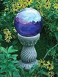 Echo Valley 9178 Serpentine Resin Pedestal Column for Gazing Globe or Sundial