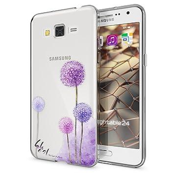 NALIA Funda Carcasa Compatible con Samsung Galaxy Grand Prime, Motivo Design Movil Protectora Fina Carcasa Silicona Cubierta, Goma Estuche Telefono ...
