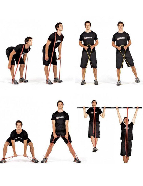 Jimmy Diseño ayuda dominadas Pull UP Resistance Bandas Long bandas de gimnasia/Loops para yoga, pilates, rehabilitación de deportes Physio de gimnasia ...