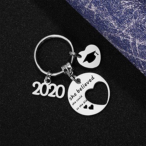 FY 2021 Graduation Keychain Graduation Gift for Girls Boys