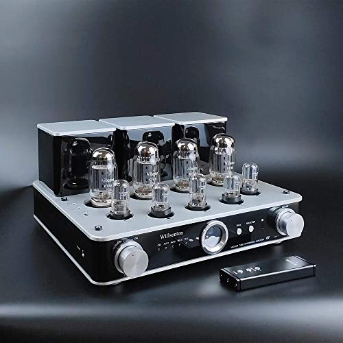 Willsenton R8 KT88 EL34 x4 Tube Integrated AMP Power Amplifier Headphone Silver