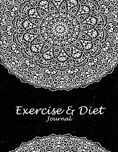 Exercise & Diet Journal: Beauty Black Art, 2019 Weekly Meal and Workout Planner and Grocery List 8.5 X 11 Weekly Meal Plans for Weight Loss & Diet Plan