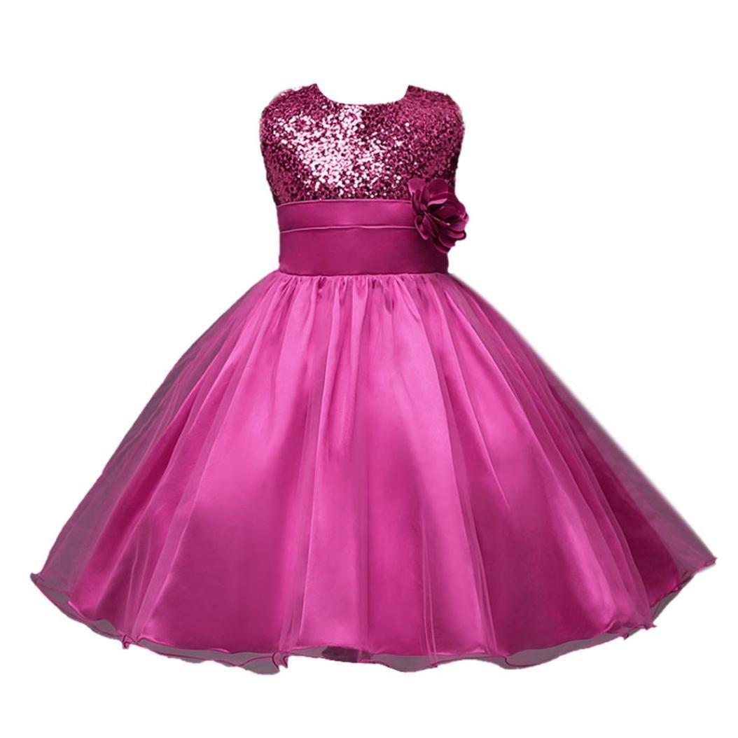 Vestido de niña, RETUROM Vestido de la princesa de la fiesta de ...