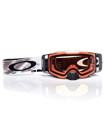 Crossbrille Oakley Front Line MX Mattweiß Speed Bronze XJ0Ogc