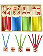Youkara Youkara 1 Pc Cuente El Número de Juguetes Educativos Para Niños Material Didáctico (Una