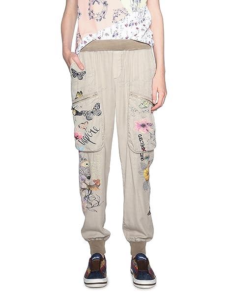 Para Y Accesorios Mujer eddy Pant Pantalones es Amazon Ropa Desigual tA4HqA