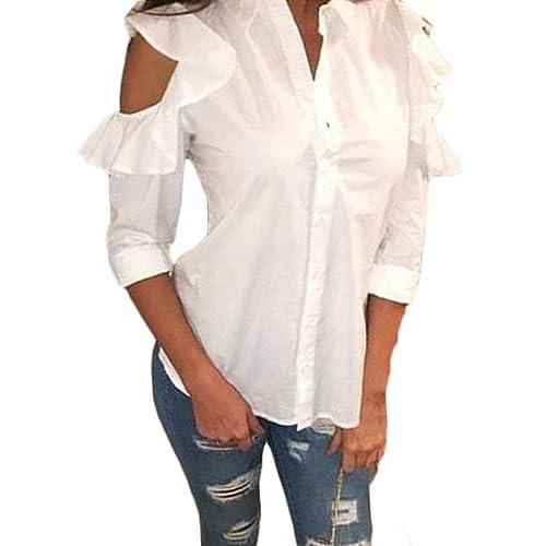 Lazylady - Camisas - Túnica - Manga Larga - para mujer