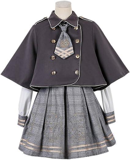 Amazon   【Cospland】 ロリータ服 Lolita 長袖 コスプレ 名探偵さん ...
