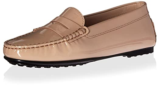 Tod's Tod's  Damens's City Loafer, Natural, 38 M EU 8 M US   Schuhes 022b4d