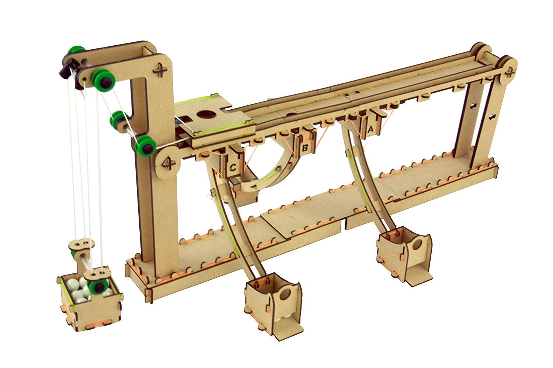 PlaSmart Smartivity Stop Drop Gravity Transporter | Industrial Engineer STEM Kit