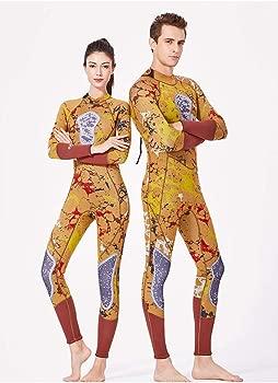 YuanDian Hombre Mujer 3mm Neopreno Traje De Buceo Camuflaje ...