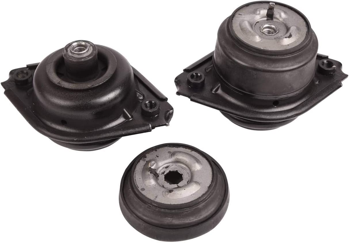 Bapmic 2512404417 Left /& Right Engine Motor Mounts Kit Compatible with Mercedes Benz W164 ML320 2007-2009 ML350 2006-2011
