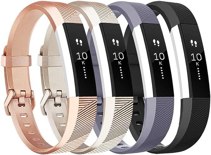 Für Fitbit Alta //Alta HR //Fitbit Ace S L Ersatz Silikon Armband Uhren Sport Band