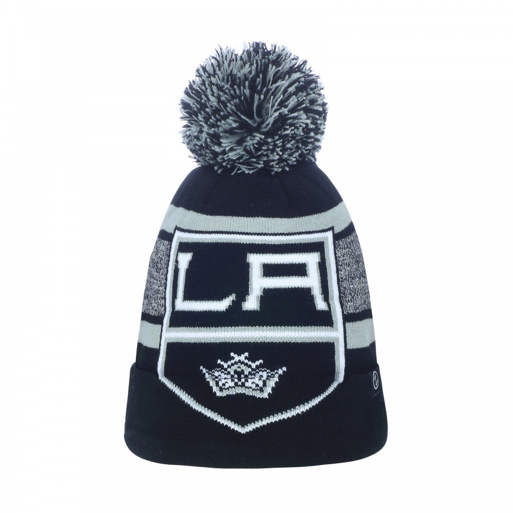 Zephyr NHL LOS ANGELES KINGS Mammoth Bobble Knit (Wintermü tze)
