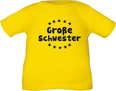 Kinder T-Shirt Große Schwester / Größe 60 - 164 in 5 Farben: Amazon.de:  Bekleidung