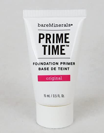 bareminerals prime time before and after. amazon.com : bare minerals prime time 15ml by escentuals foundation primers beauty bareminerals before and after