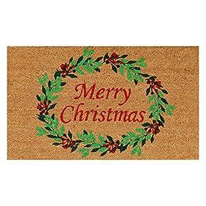 Home & More Christmas Wreath Outdoor Doormat 63
