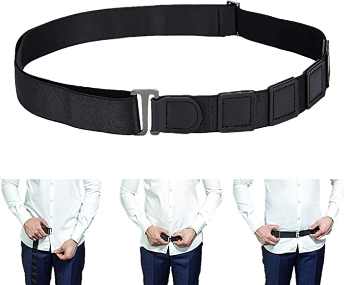 New Shirt Stays Men Braces Women Belt Tuck Shirt Holders Near Adjustable