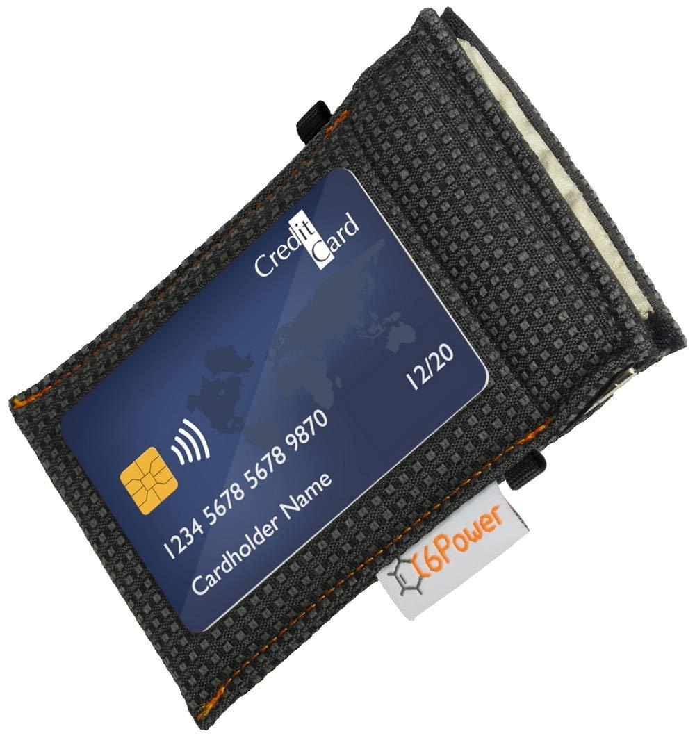 mit Gutachten und Einhandbedienung Funkschl/üssel Etui Signal Abschirmung RFID NFC WLAN GSM LTE Bluetooth Blocker schwarz C6Power Keyless Go Diebstahlschutztasche
