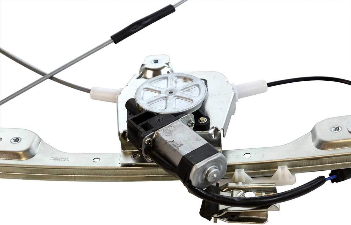 Auto Shack WR848622 Front Passenger Right Power Window Regulator with Motor