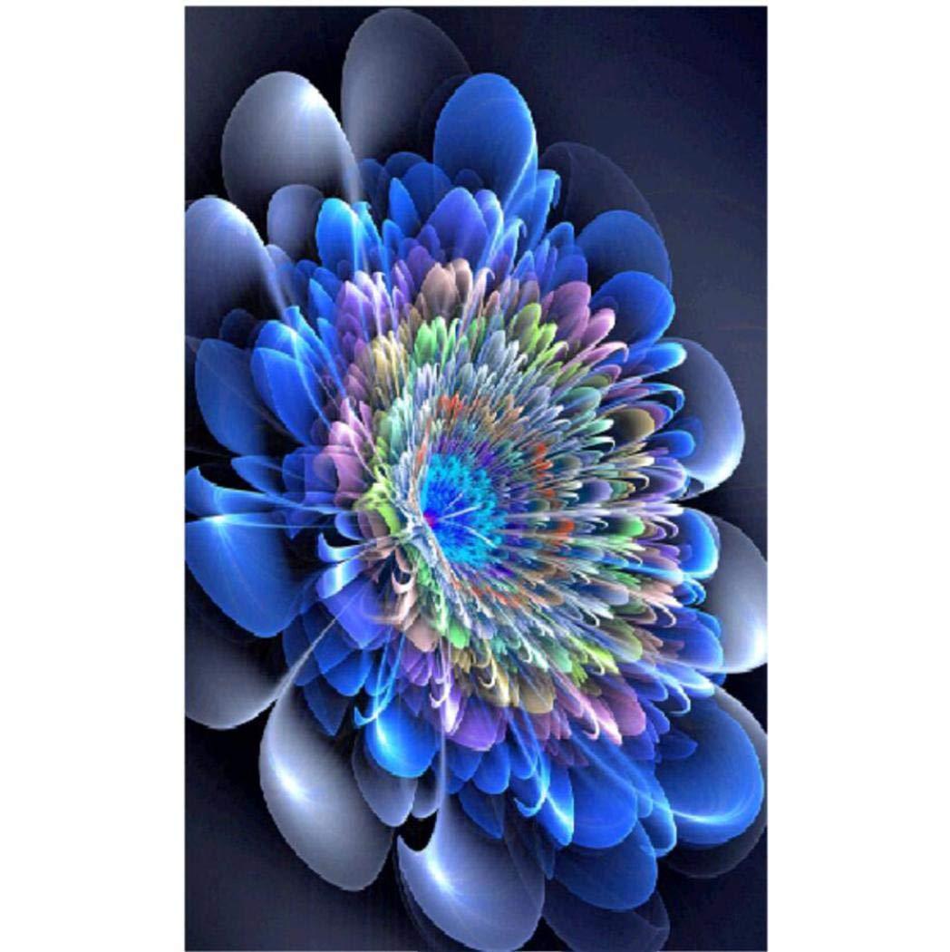 5D DIY Peinture au Diamant - fantaisieFleur - Broderie Diamant Peinture Décorative Kits Décoration de la Maison Salon Chambre BaZhaHei